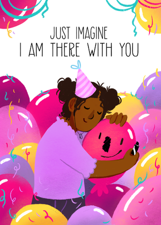 Balloon Birthday Card no.2