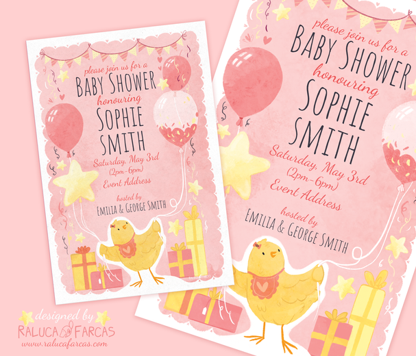 Baby Shower Invitation and Poster