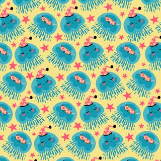 Good Night Jellyfish Ver.2- Vibrant