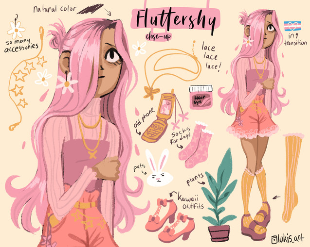 My Little Pony-Redesign Collection- Fluttershy