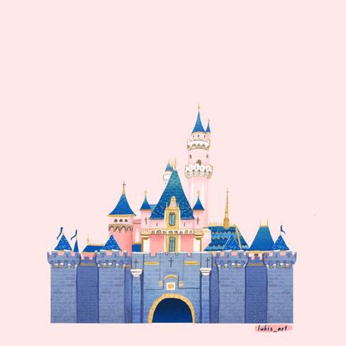 California Disney Castle