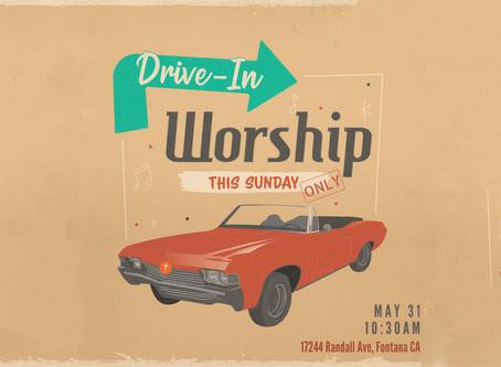 Drive-In Service   CrossPointe Church Sermon, 5.31.2020