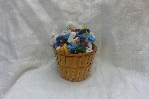 Basket O' Smurfs