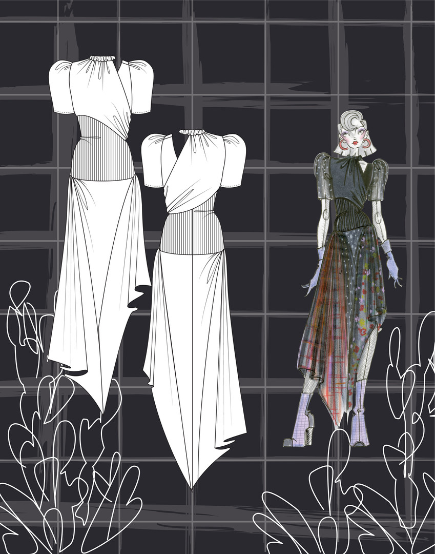 Annalisa Ebbink, CFDA Final, Technical B