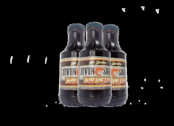 The Jivin Sauce (3 Bottles) Free Shipping