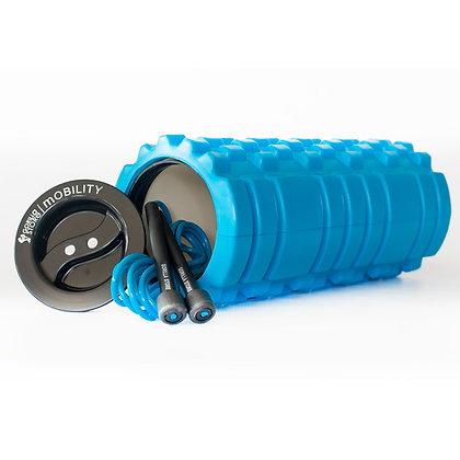 Blue Storage Foam Roller