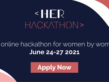 The event of 2021 – by women for women: HerHackathon