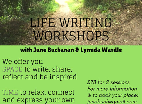 Writing your Life: Autumn Memoir Workshops
