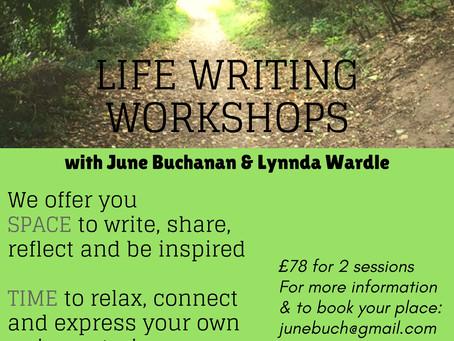 Writing your Life: Autumn Memoir Workshops