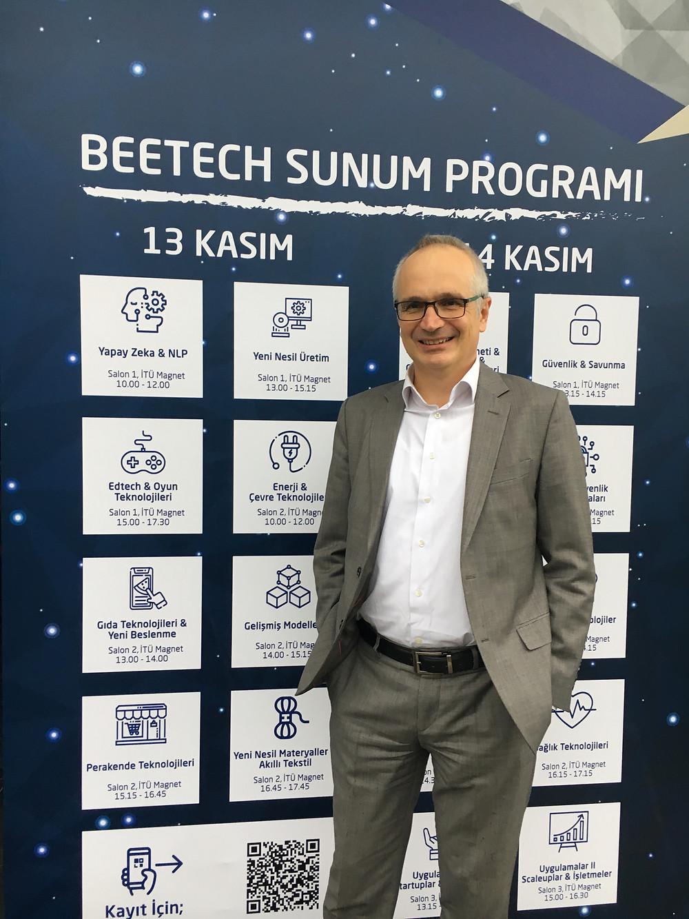 Oguz Haliloglu, DEO of Defne at Beetech 2018