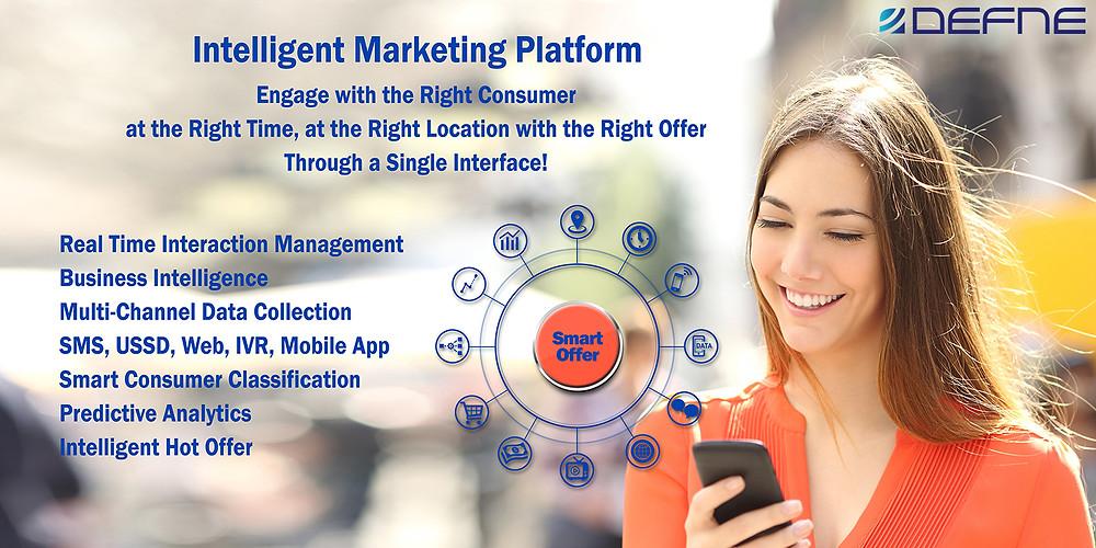 Defne's Intelligent Marketing Platform