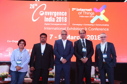 Oguz Haliloglu, CEO of Defne  Spoke at the 26th Convergence India 2018