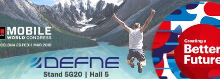 Defne to Exhibit at GSMA Mobile World Congress 2018