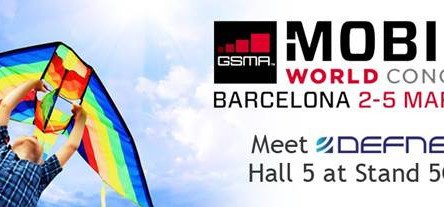 Defne to Exhibit at GSMA Mobile World Congress, March 2-5, 2015