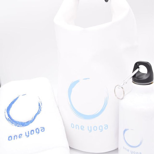 Set C Water Bottle, Gym Bag and Towel