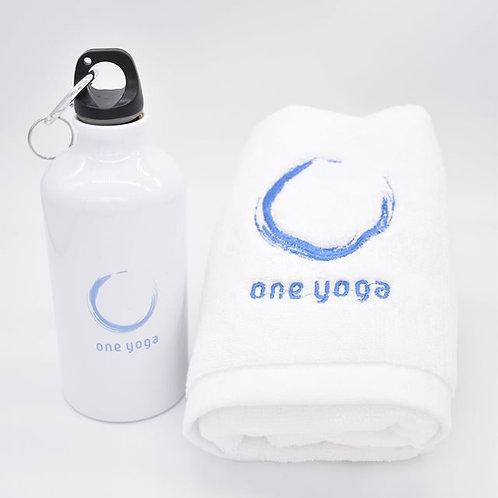 Set A Water Bottle & Towel