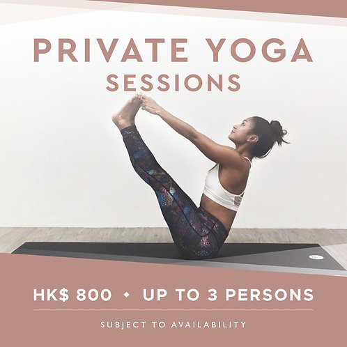 Private Yoga - Single Session