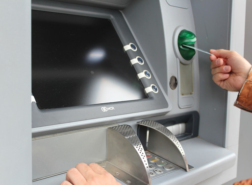 Getting money out of the ATM in Uruguay