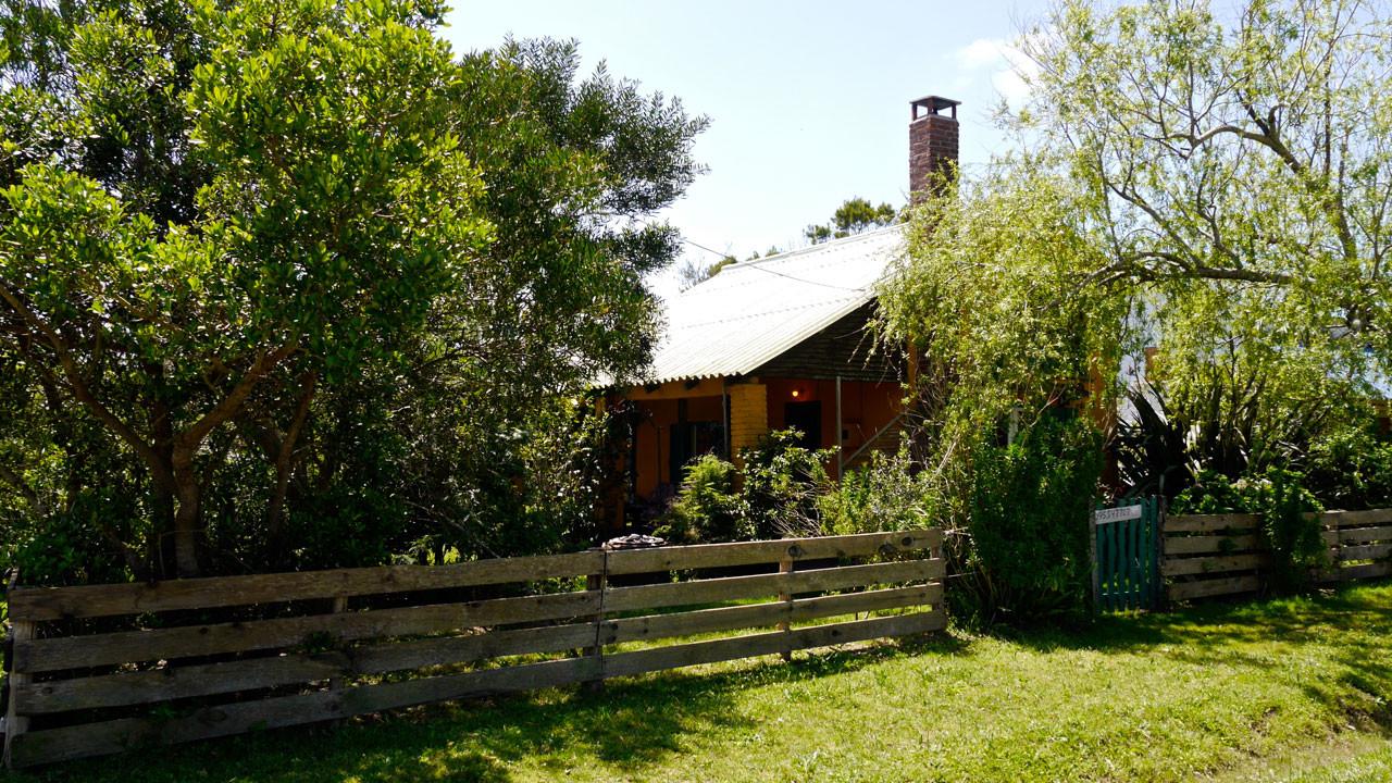 Frente cabaña Picaflor