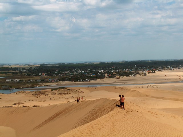 Sand dunes Valizas