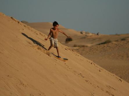 Bajar las dunas