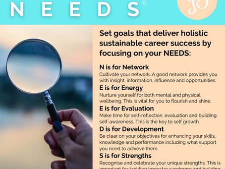 Focus on your NEEDS