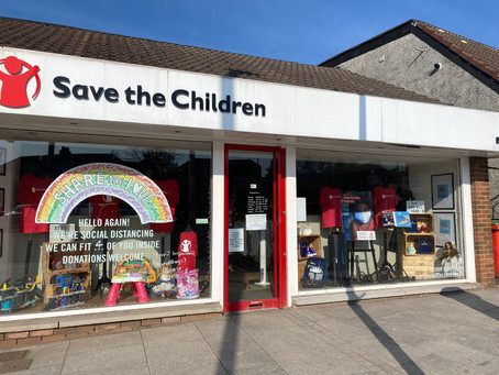 Reduce Waste - Support Your Local Charity Shop