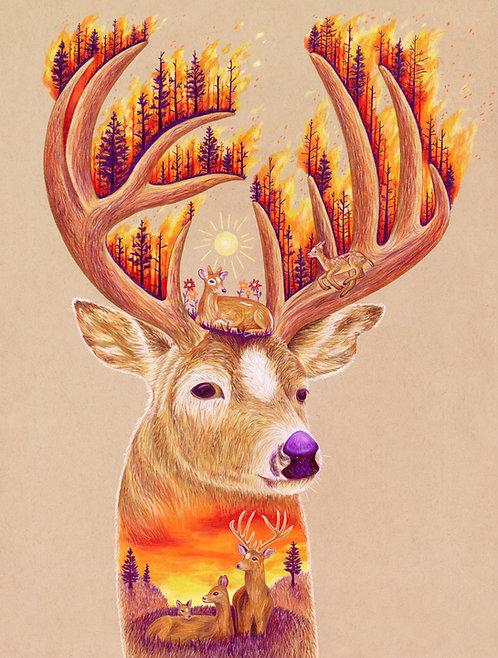 """Fortune"" Art Print"