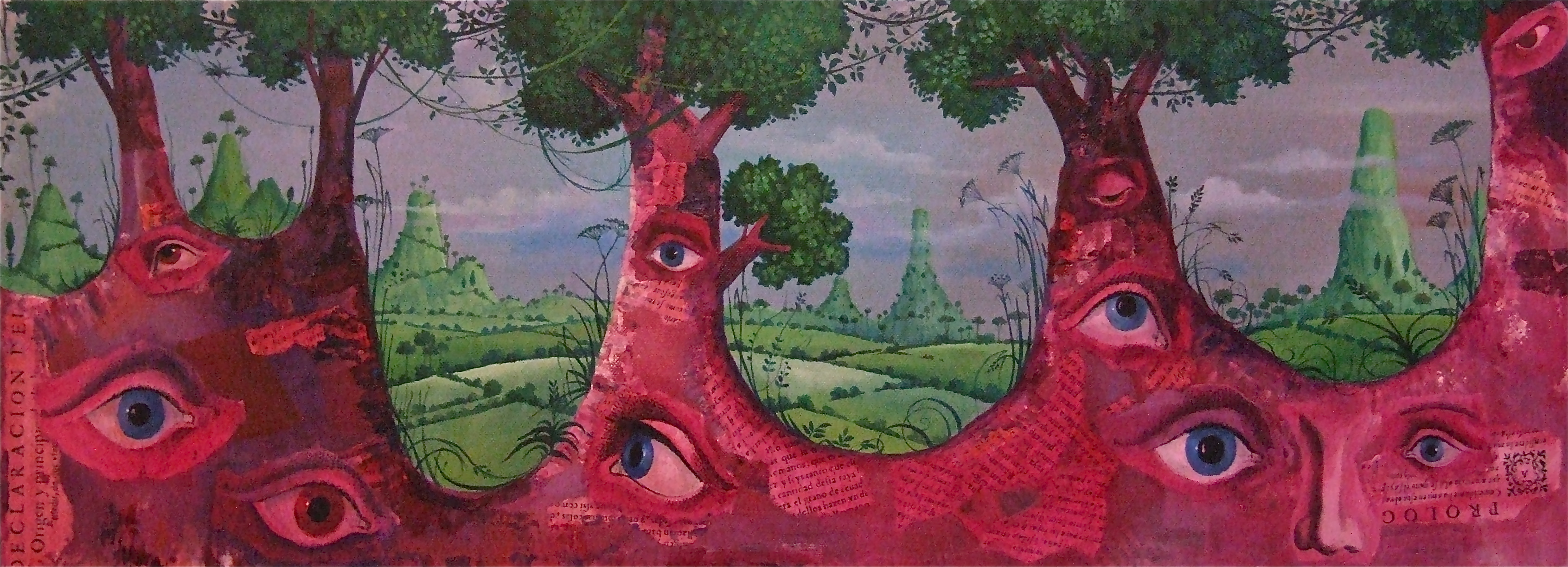 painting trees eye