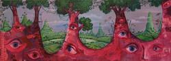 painting trees eye