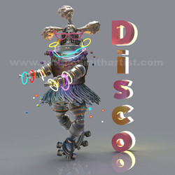 DISCO,SilverRobot