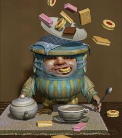 jammy cake Tea Nathan Smith
