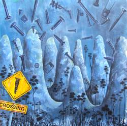 painting landscape screws