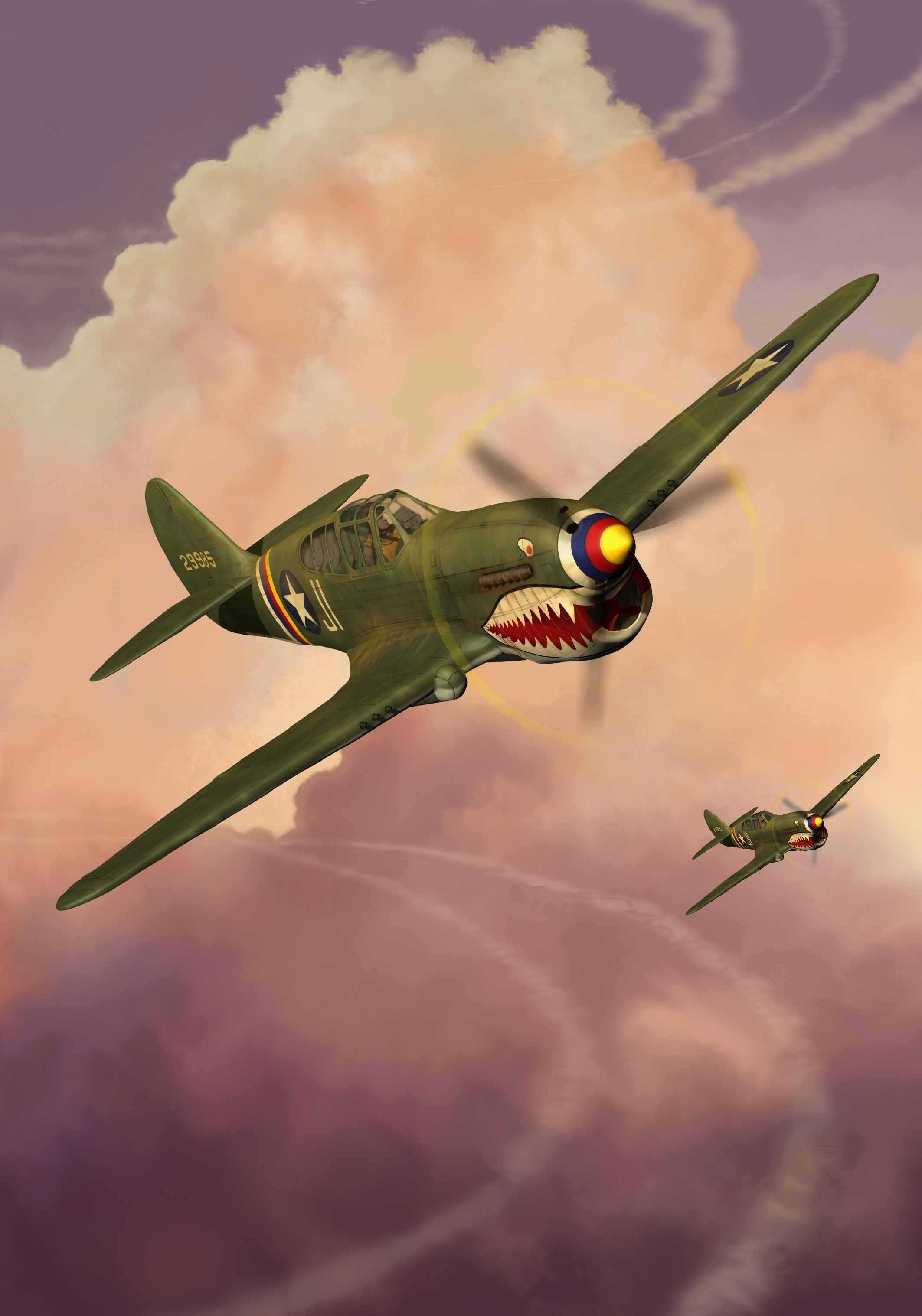 P40 WarHawk Nathan Smith