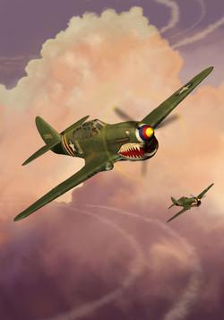 P40 WarHawk Nathan Smith