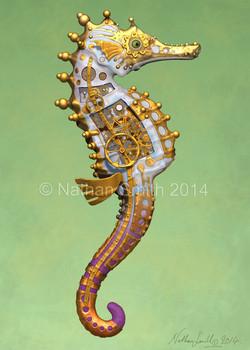 seahorse white Nathan Smith