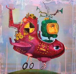 painting strange machine