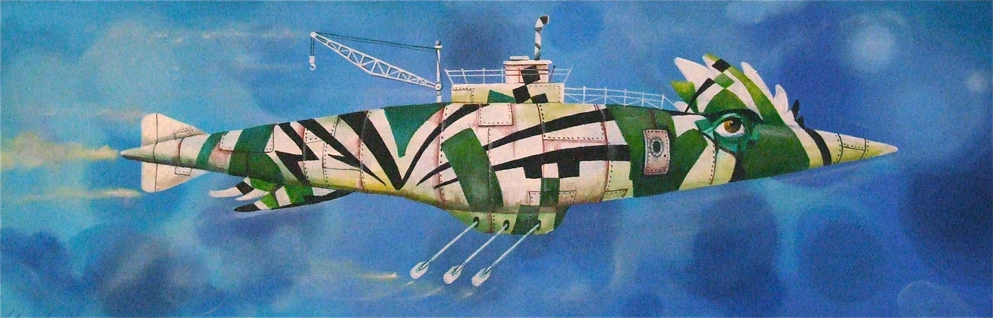 painting submarine
