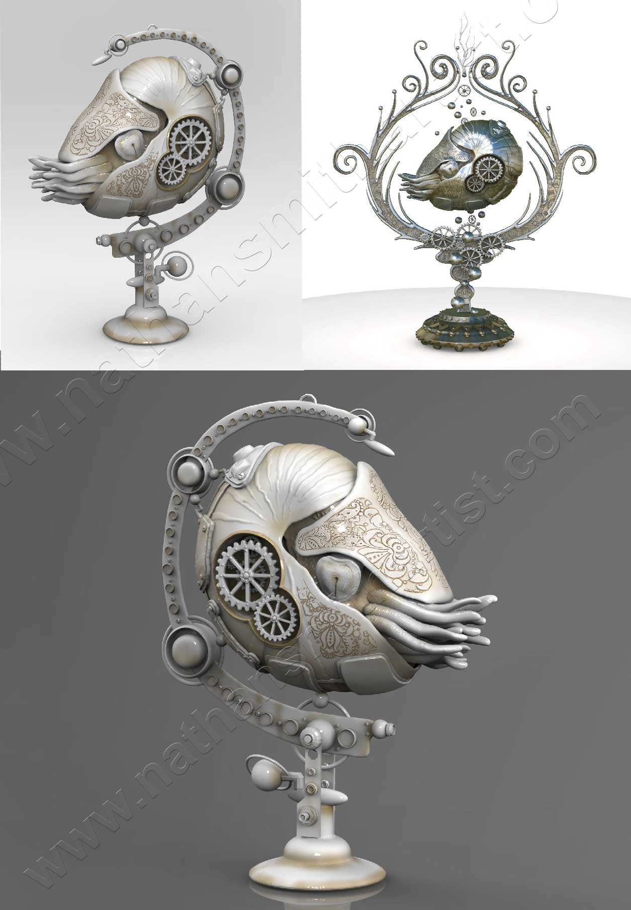 nautilus sea creature
