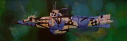 painting of submarine
