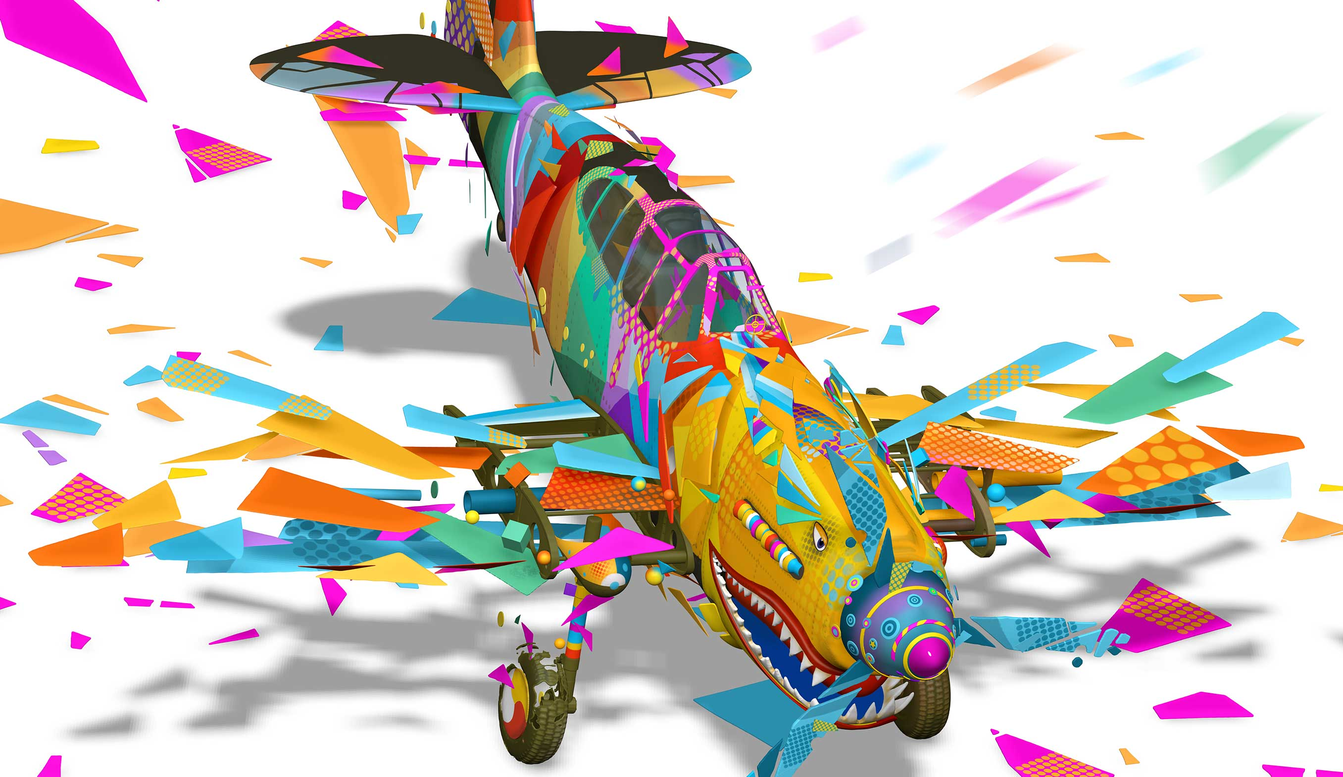 Colour aircraft Nathan Smith