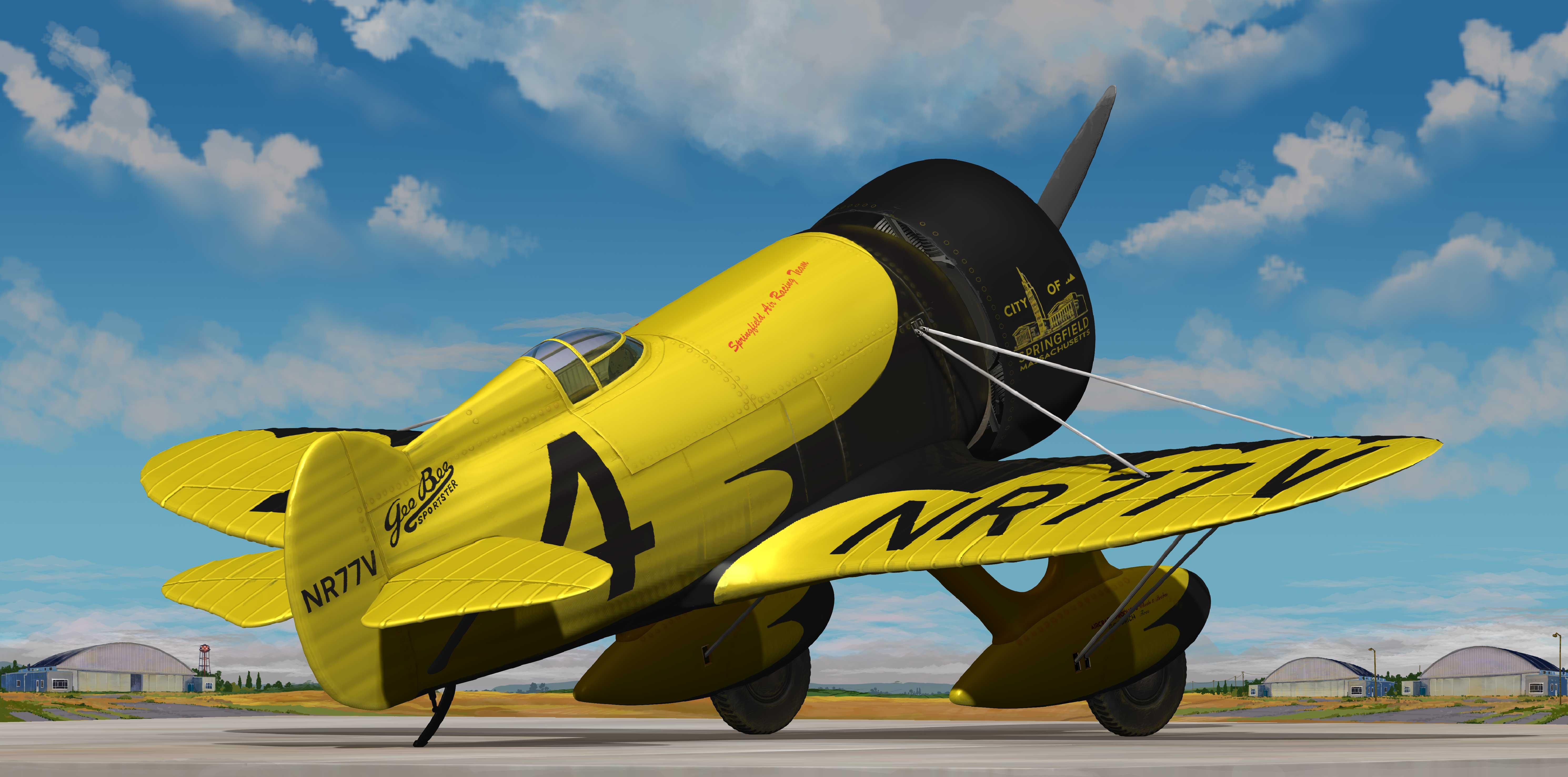 GeeBee plane
