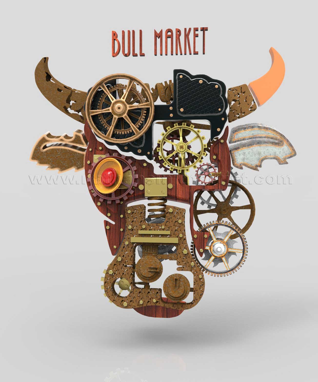 Bull Market,Cows