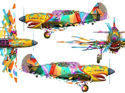 Colour aircraft Nathan Smith
