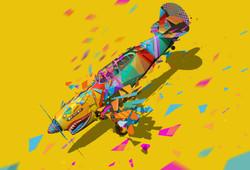 Yellow Aircraft