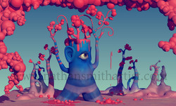 Blue Tree eye Nathan Smith
