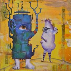 strange painting