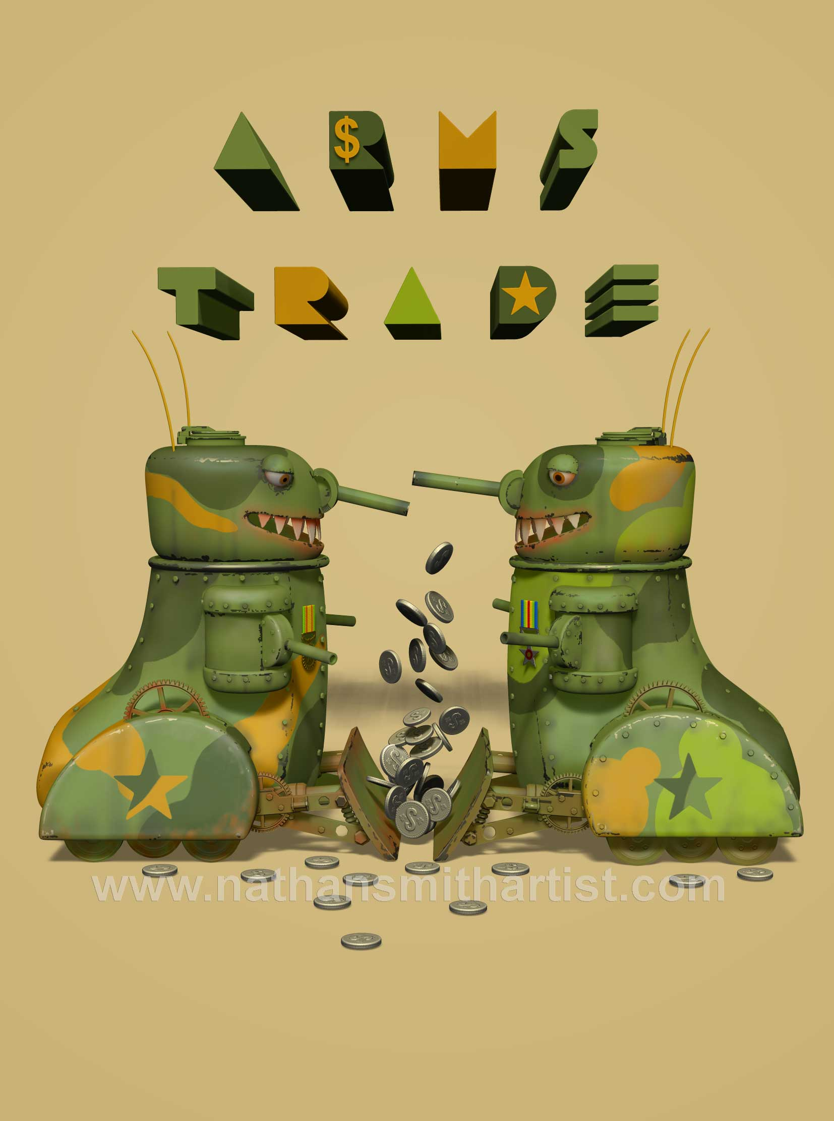 Arms trade,tanks,money