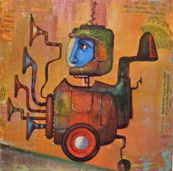 painting little machine