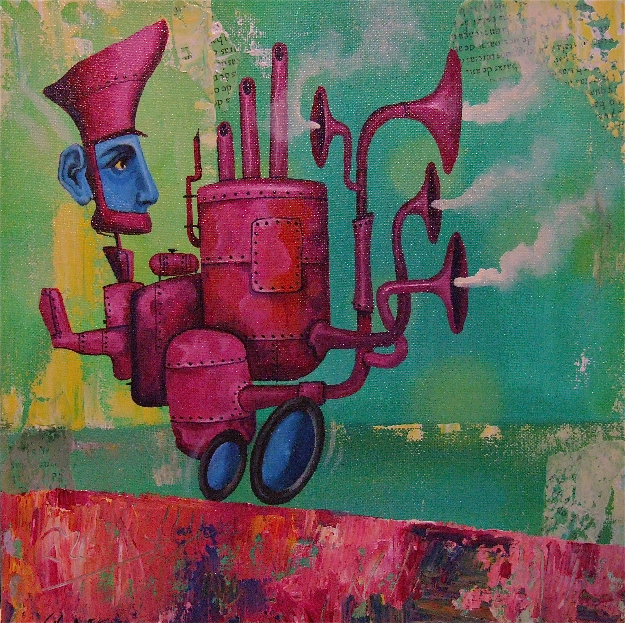painting little machine